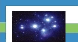 Plejaden (offener Sternhaufen im Sternbild Taurus)